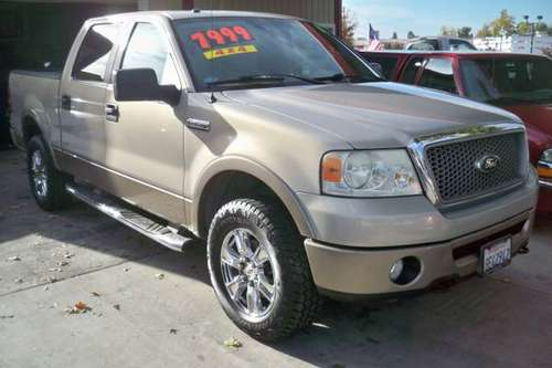 ..... ford f150 crew cab 4x4 ..... for sale in Roseville, CA