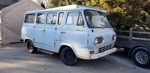 1965 Ford Econoline Falcon Van - cars & trucks - by owner - vehicle... for sale in Clinton Township, MI