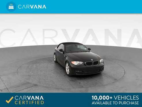 2010 BMW 1 Series 128i Convertible 2D Convertible Black - FINANCE for sale in Atlanta, CA