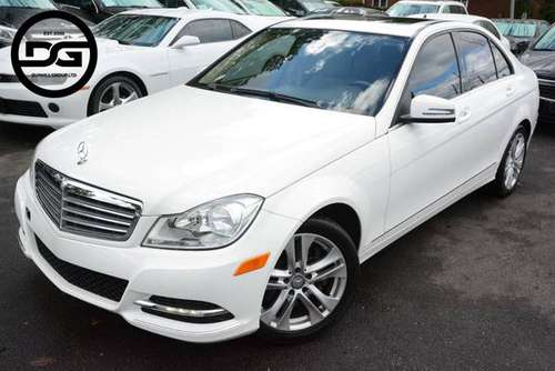 2013 *Mercedes-Benz* *C-Class* *C 300* Polar White for sale in Linden, NJ