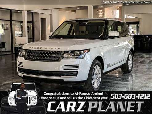 2016 Land Rover Range Rover AWD All Wheel Drive DIESEL FACTORY... for sale in Gladstone, OR