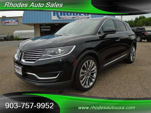 2016 LINCOLN MKX RESERVE ECOBOOST - cars & trucks - by dealer -... for sale in Longview, TX