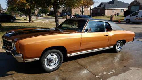Clean 1970 Monte Carlo #Lsswapped Turn key Daily driver - cars &... for sale in Dallas, TX