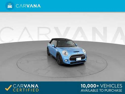 2017 MINI Convertible Cooper S Convertible 2D Convertible BLUE - for sale in Fort Wayne, IN