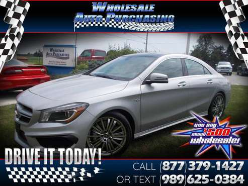 2014 Mercedes-Benz CLA-Class 4dr Sdn CLA 45 AMG 4MATIC for sale in Frankenmuth, MI