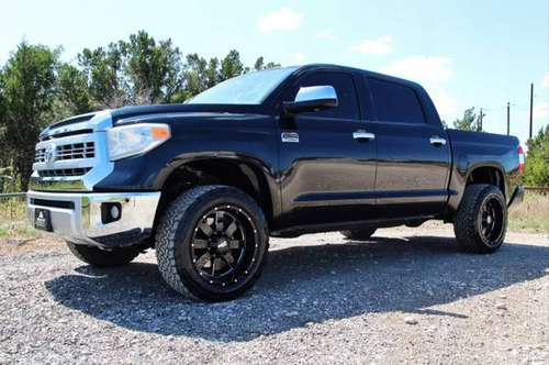 2014 TOYOTA TUNDRA 1794 4X4 - LOADED - NAV ROOF - 20X10s 33s - CLEAN!! for sale in Leander, AR