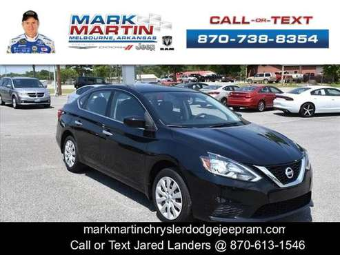 2016 Nissan Sentra - Down Payment As Low As $99 for sale in Melbourne, AR