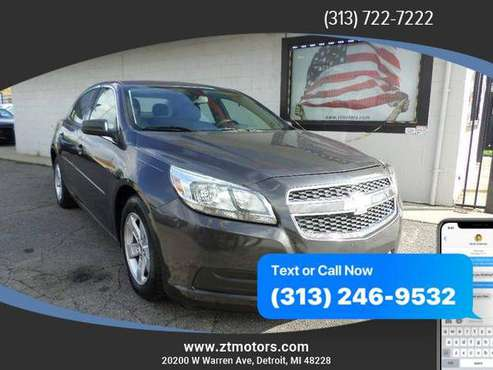 2013 Chevrolet Chevy Malibu LS Sedan 4D ***AS LOW AS $495 DOWN!!! for sale in Detroit, MI