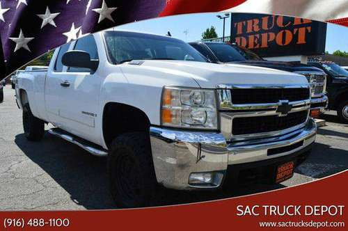 2008 Chevrolet Chevy Silverado 2500HD LT1 4WD 4dr Extended Cab LB for sale in Sacramento , CA