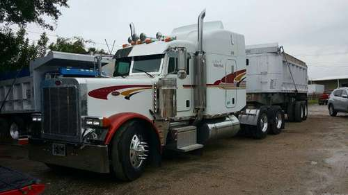 2005 PETERBILT 379 CLASSIC and 2001 DUMP TRAILER for sale in Lakeland, FL