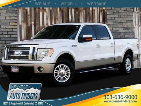 2009 Ford F-150 SuperCrew Lariat V8 4WD for sale in Centennial, CO