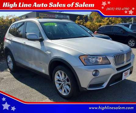 2014 BMW X3 xDrive28i AWD 4dr SUV EVERYONE IS APPROVED! for sale in Salem, MA