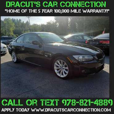 11 BMW 328XI Coupe w/ONLY 81K! LOADED! 5YR/100K WARRANTY INCLUDED! - $ for sale in METHUEN, ME