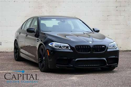 575 HORSEPOWER, Stunning '16 BMW M5 Competition Package! for sale in Eau Claire, MN