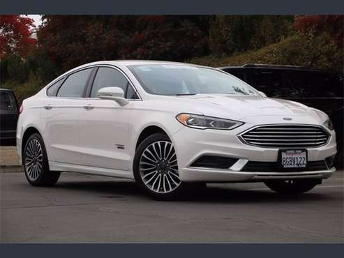 Certified 2018 Ford Fusion Energi - cars & trucks - by dealer -... for sale in Santa Rosa, CA