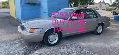 1998 Mercury Grand Marquis $750 DOWN BUY HERE PAY HERE for sale in Bradenton, FL