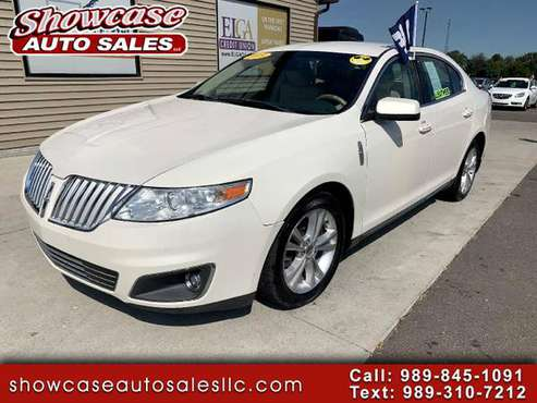2009 Lincoln MKS 4dr Sdn FWD - cars & trucks - by dealer - vehicle... for sale in Chesaning, MI