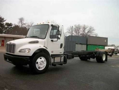 2012 *Freightliner* *M2* *4X2 2dr Regular Cab* White for sale in East Providence, RI