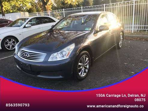 2008 INFINITI G - Financing Available! for sale in DELRAN, NJ