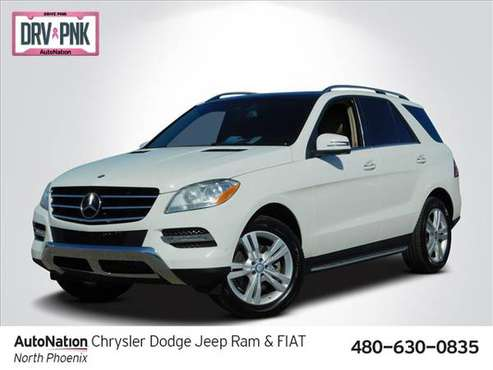 2013 Mercedes-Benz M-Class ML 350 BlueTEC AWD All Wheel SKU:DA153453 for sale in North Phoenix, AZ