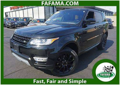 2016 Land Rover Range Rover Sport HSE 4WD - We Can Finance Anyone for sale in Milford, MA
