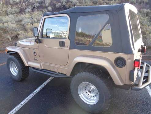 99 Jeep Wrangler Sahara Very Clean Low Miles - cars & trucks - by... for sale in Bend, OR