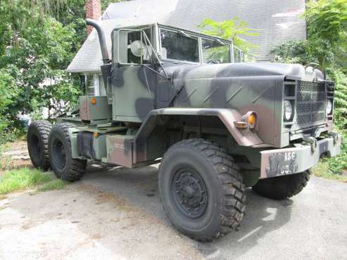 Military 5 Ton 6x6 M931A1 Tractor M923 - M939 series 700 miles Duce x2 for sale in Boston, MA