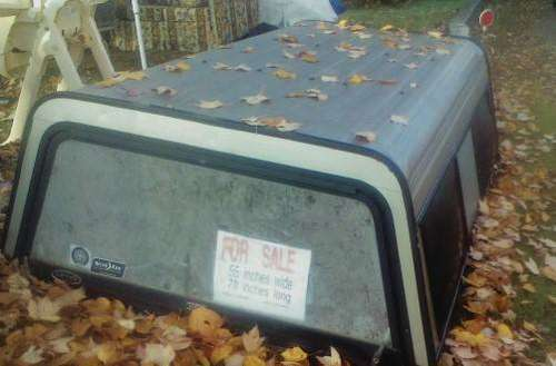 truck cap aluminum for sale in Oxford, ME