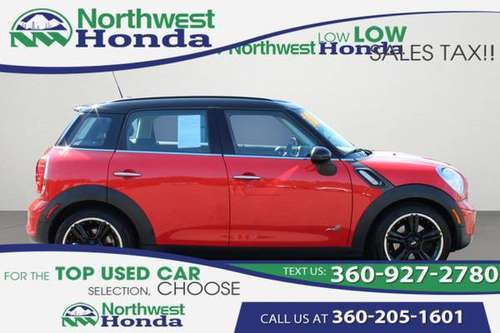 2011 MINI COOPER S COUNTR ALL4 BEST deals! for sale in Bellingham, WA