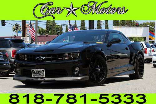 2011 CHEVY CAMARO 2SS **$0 - $500 DOWN. *BAD CREDIT CHARGE OFF* for sale in Los Angeles, CA