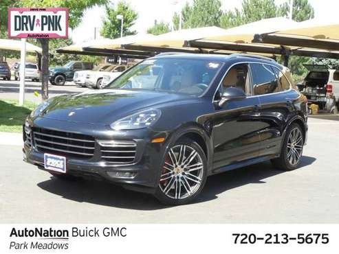 2016 Porsche Cayenne Turbo AWD All Wheel Drive SKU:GLA88701 for sale in Lonetree, CO