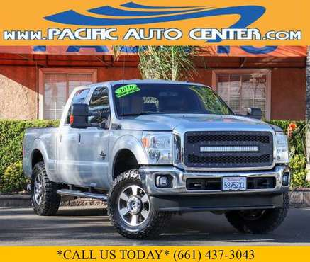 2016 Ford F-250 F250 Lariat Crew Cab 4x4 Short Bed Diesel Truck #27188 for sale in Fontana, CA