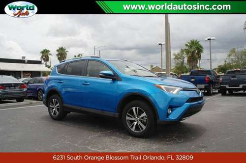 2018 Toyota RAV4 XLE FWD $729 DOWN $80/WEEKLY for sale in Orlando, FL