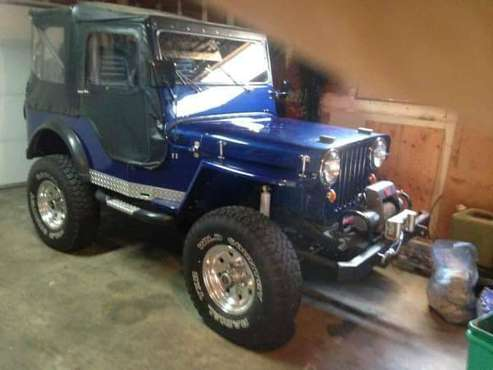 1947 Willy's CJ2A Restomod for sale in Port Angeles, WA