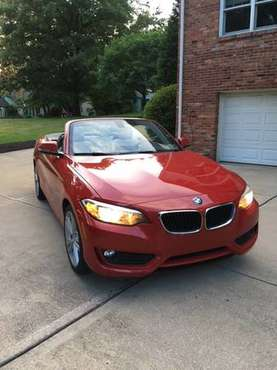 BMW 228i Convertible -- like new for sale in Glenshaw, PA