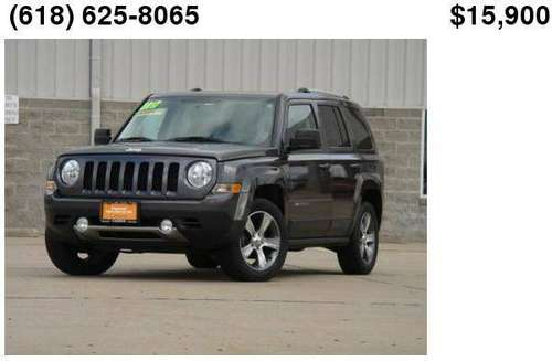 2017 Jeep Patriot High Altitude - cars & trucks - by dealer -... for sale in Glen Carbon, MO