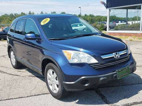 2009 Honda CR-V EX-L AWD, 128K, Auto, AC, CD, Alloys, Leather, Sunroof for sale in Belmont, VT