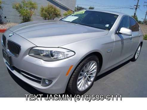 2012 BMW 5 Series 535i LOW 75K MILES LOADED WARRANTY BAD CREDIT... for sale in Carmichael, CA