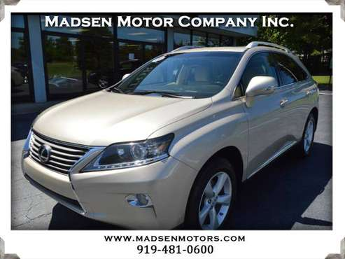 2015 Lexus RX 350 FWD, 35k, Satin Cashmere, like new! for sale in Cary, NC