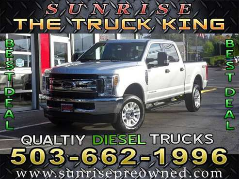2019 Ford F-250 Diesel 4x4 4WD F250 Super Duty XLT Truck for sale in Milwaukie, OR