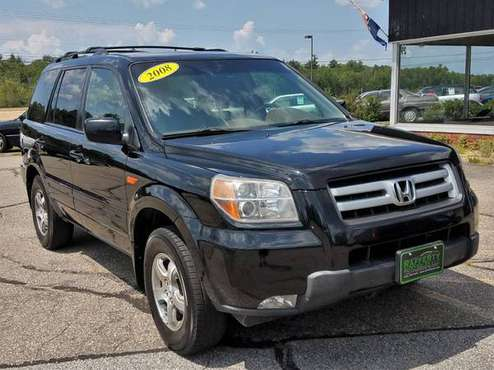 2008 Honda Pilot EX-L AWD, 156K, Leather, Sunroof, CD,Alloys, 3rd Row! for sale in Belmont, VT