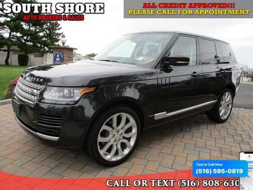 2014 Land Rover Range Rover 4WD 4dr HSE - Good or Bad Credit-... for sale in Massapequa, NY