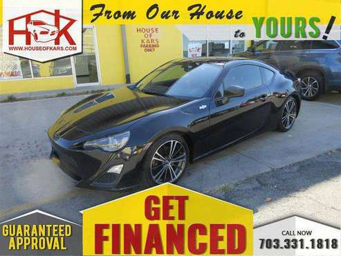 2015 Scion FR-S 6MT **1 OWNER VEHICLE// LOW MILES // FINANCING AVA for sale in Manassas, VA