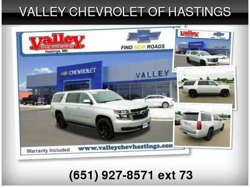 2018 Chevrolet Suburban LT 1500 for sale in Hastings, MN