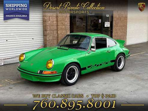 1970 Porsche 911 out law Carrera RS Tribute Coupe with a GREAT COLOR... for sale in Palm Desert, NY