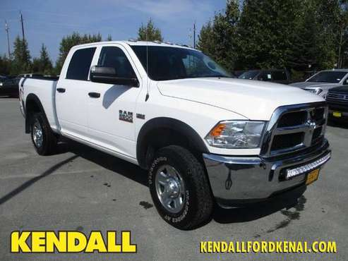 2017 Ram 2500 Bright White Clearcoat GO FOR A TEST DRIVE! for sale in Soldotna, AK