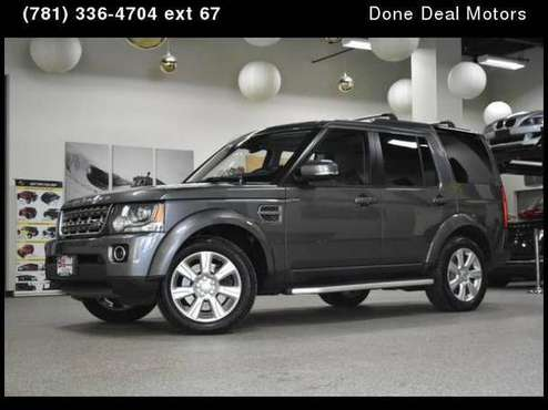 2015 Land Rover LR4 HSE for sale in Canton, MA
