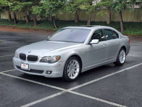 2006 BMW 750i * 750li * Silver on Black * Fully Serviced * Great Deal for sale in Lynnwood, WA