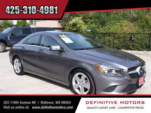 2016 Mercedes-Benz CLA CLA 250 4MATIC * AVAILABLE IN STOCK! * SALE! * for sale in Bellevue, WA