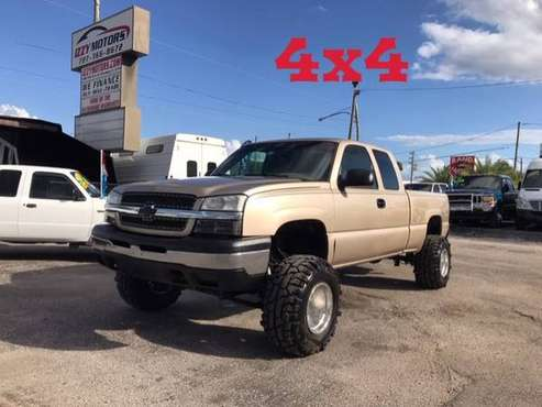 2004 CHEVY SILVERADO 5.3L V8 EXTENDED 4OOR LIFTEED 4X4 LIFTED. for sale in SAINT PETERSBURG, FL